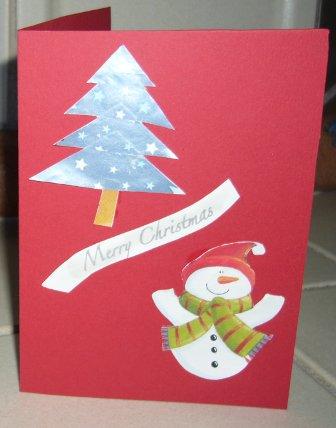 Schnelle Weihnachtskarten Basteln.Schnelle Weihnachtskarten Selbsgemacht Bastelanleitung Für Kinder